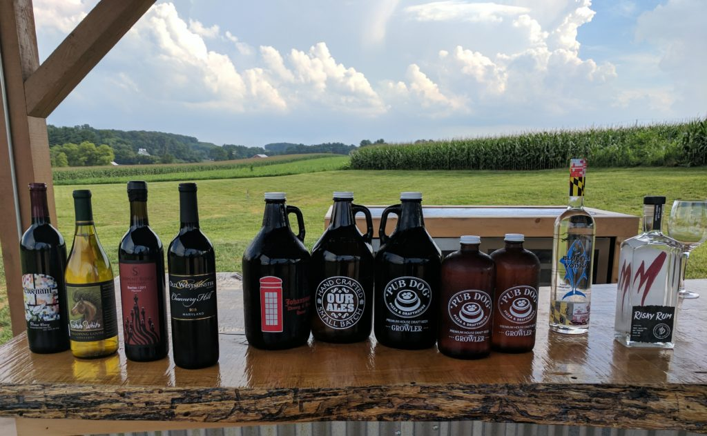 Carroll County Maryland Beer Wine and Spirits